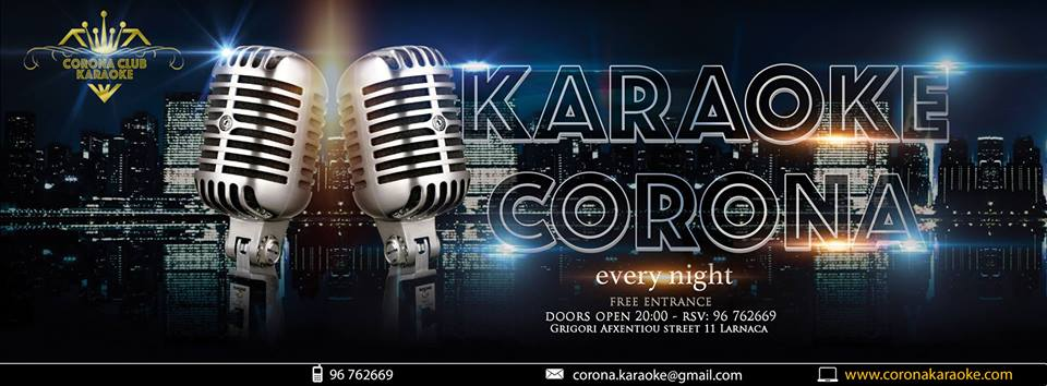 Corona Karaoke Club Cover Image on XploreCyprus
