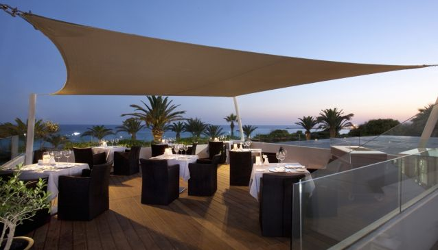 The Deck Restaurant At Alion Beach Hotel Cover Image on XploreCyprus