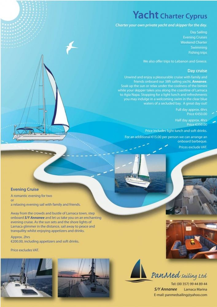 PanMed Sailing Profile Image  - Wedding Venues - On XploreCyprus